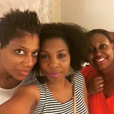 Me, Trekedda and Tameka