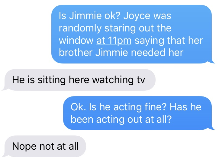 Whenever you forget what God has done in your life, just remember that Jimmie is fine.