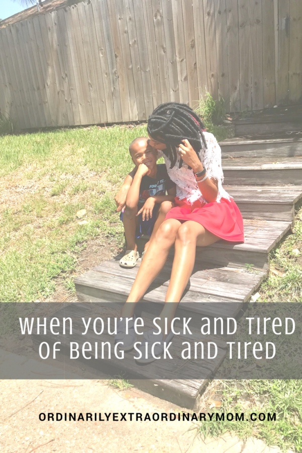 When You're Sick and Tired of Being Sick and Tired | Momlife | Balance | Minimalism