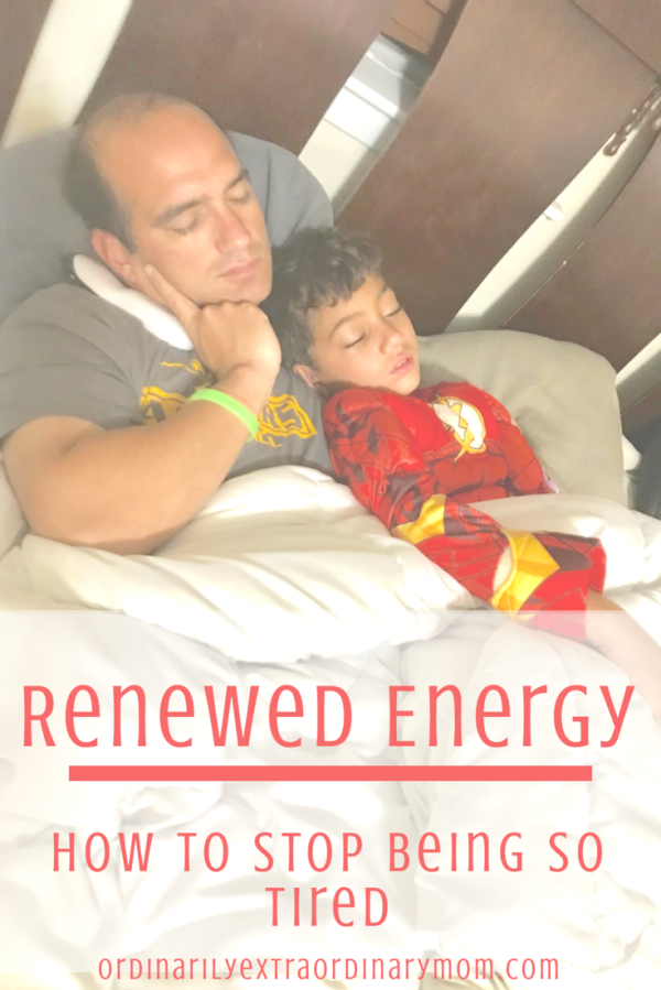 Renewed Energy: How to Stop Being So Tired