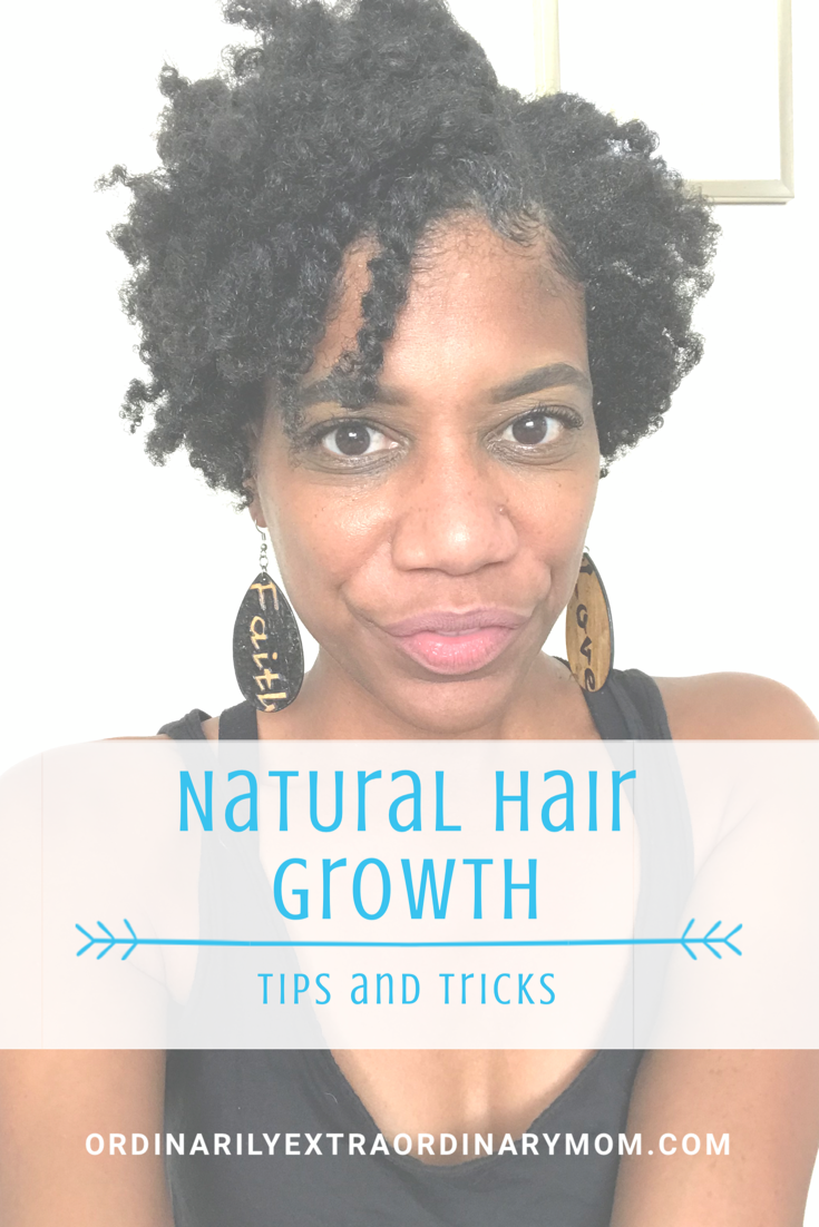 Natural Hair Growth - Tips and Tricks