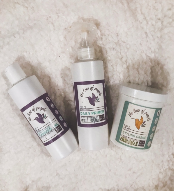 The Love of People offers so many products perfect for natural hair care and curly hairstyles. Check out these three of my absolute favorites! | Curly Hairstyles | Curly Hair Products | Curly Hair Care | Natural Hair Care | Natural Hair Products | Natural Hairstyles