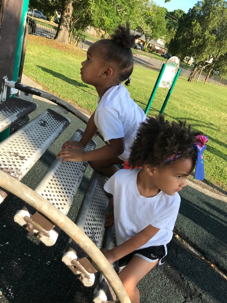 Playing at a park should definitely be on your spring activities list. #springactivities #budgetfriendlyactivities #budget #springfun #kidactivities #childrenactivities #motherhood #momlife