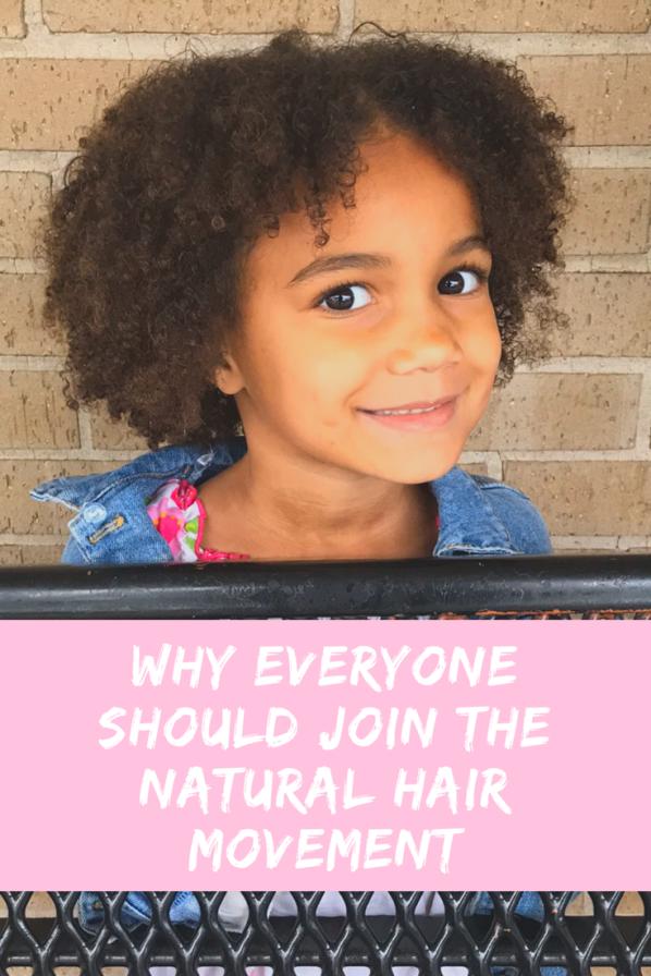 Why Everyone Should Join the Natural Hair Movement | ordinarilyextraordinarymom #naturalhairmovement #gonatural #naturalhair #naturalhaircare 3curlyhair #motherhood #mediumlengthnaturalhair