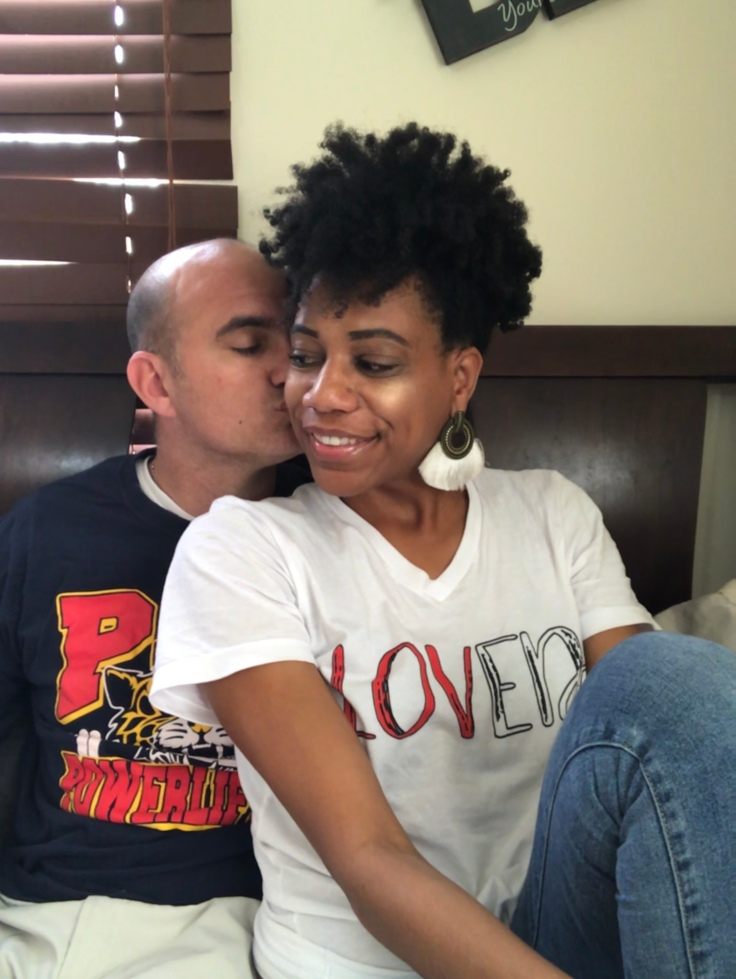 Love MORE. #loved #selflove #selfcare #inspiration #christianmarriage #hugsandkisses #couplesphoto #interracialmarriage