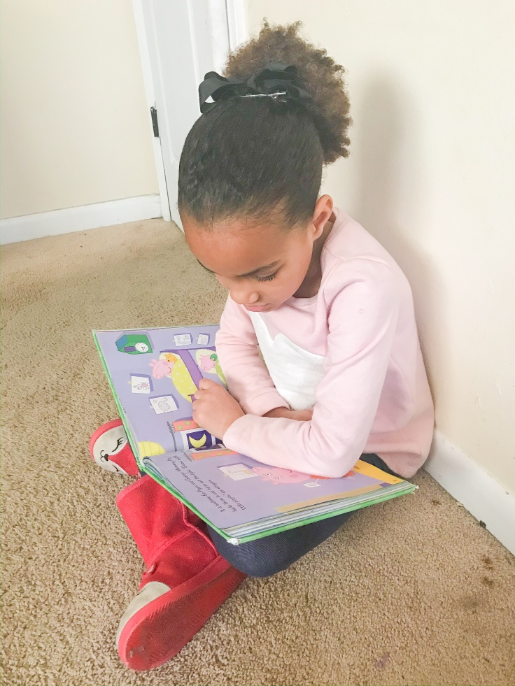 One way to spend quality time with your children is to read books together. #qualitytime #qualitytimewithchildren #motherhood #christianmom #minimalistlifestyle