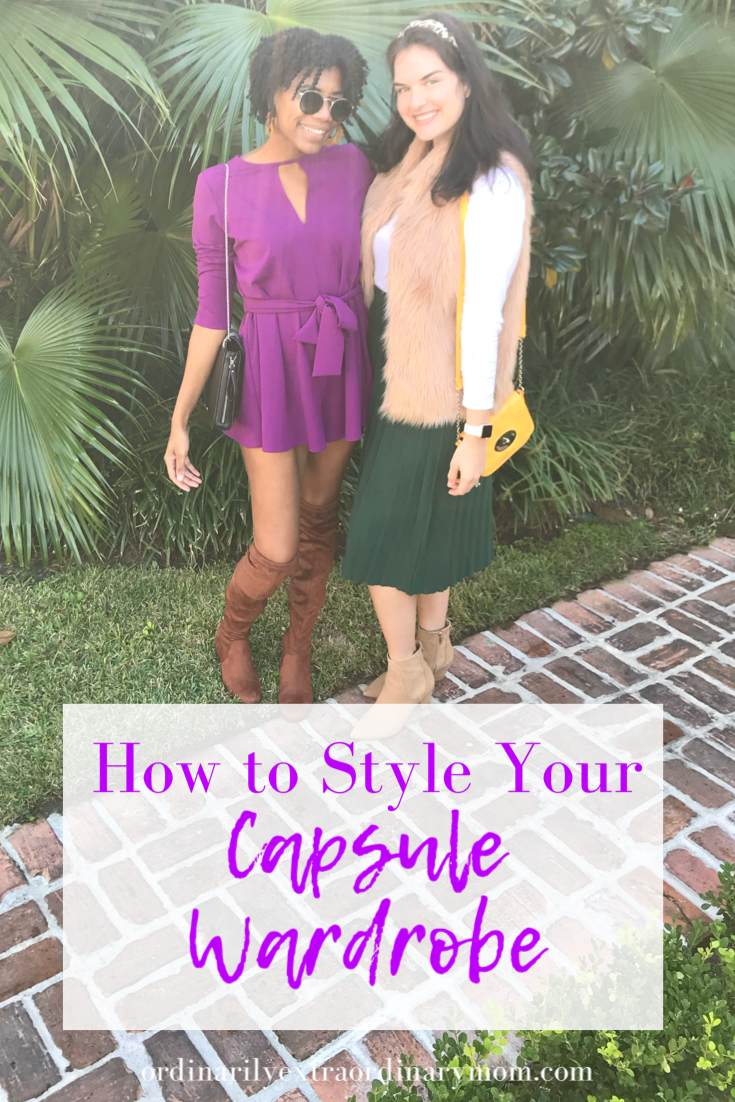 How to Style Your Capsule Wardrobe | ordinarilyextraordinarymom #capsulewardrobe #minimalistwardrobe #minimalism #minimalistlifestyle #minimaliststyle #momstyle #springwardrobe #springstyle