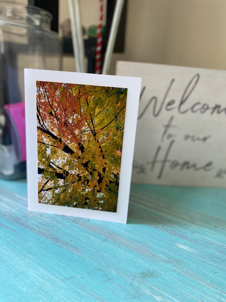 The photos on these cards are beautiful enough to display anywhere in your home. #bealight #spreadlight #cards #cardshandmade #stationary #happymail