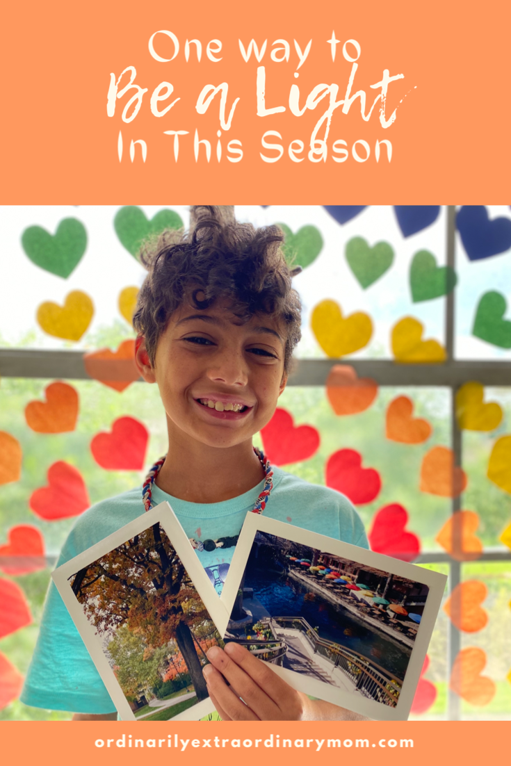 One Way to Be a Light in this Season | ordinarilyextraordinarymom #bealight #spreadlight #cardshandmade #inspiration #christianmom #stationary