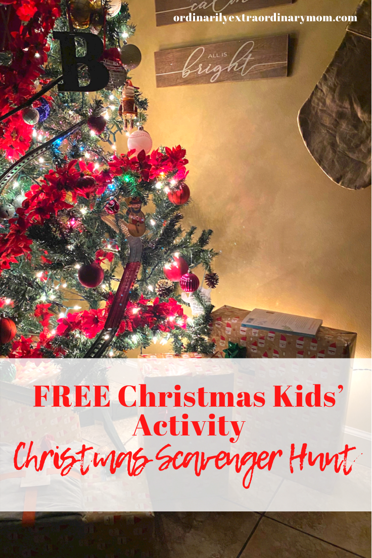 FREE Christmas Kids' Activity - Christmas Lights Scavenger Hunt | ordinarilyextraordinarymom #freeprintable #freechristmasprintable #christmasscavengerhunt #freechristmasactivity #freekidsactivities